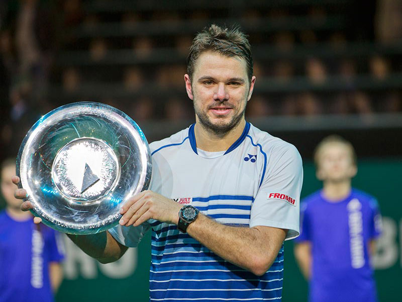 Stan Wawrinka grijpt titel ABN AMRO World Tennis Tournament