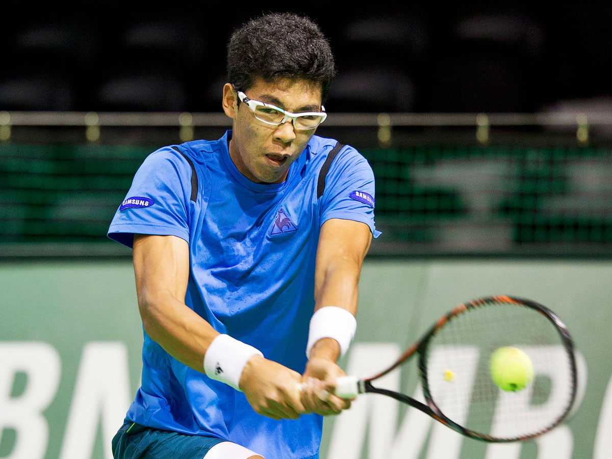 Eerste Koreaanse zege op ABN AMRO World Tennis Tournament