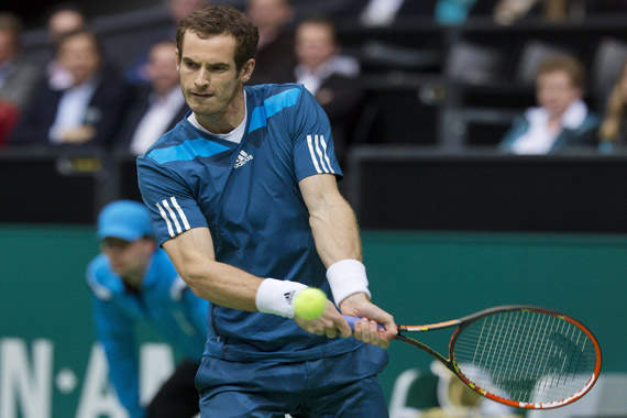 Andy Murray naar 42e ABN AMRO World Tennis Tournament