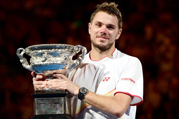 Stanislas Wawrinka naar ABN AMRO World Tennis Tournament