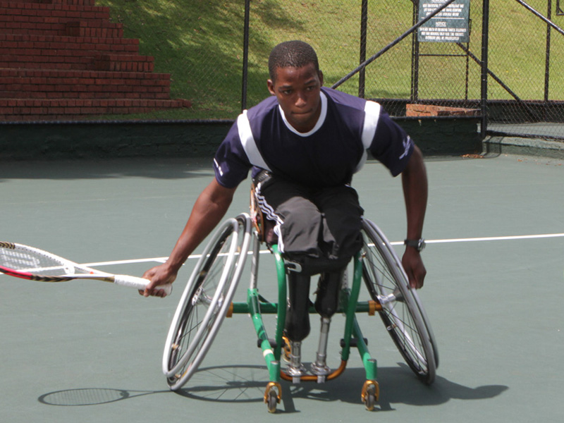 Evans Maripa ontvangt wildcard voor Wheelchair Tournament